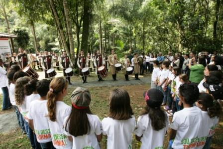 Banda do Thabor colabora com o meio ambiente