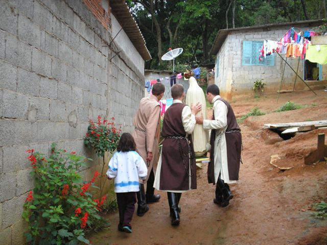 Missão Mariana com os jovens do Thabor