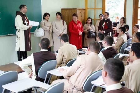 Visita do Corpo Docente do Colégio Arautos – Paraguai