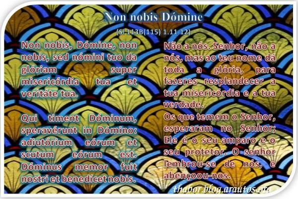 Non nobis Dómine