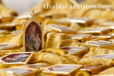 Último dia do curso no Thabor: Mãe de Misericórdia!