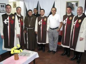 Con Mons. Enrique Herrera, obispo de Jinotega