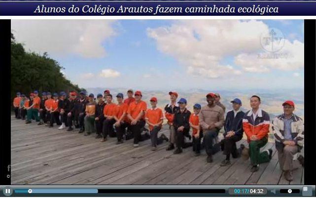 Caminata ecológica en la Serra da Cantareira