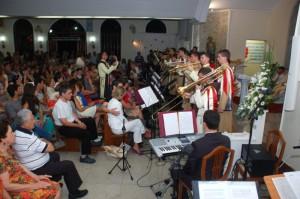 Cantata Natalina na Paróquia Nossa Senhora do Perpétuo Socorro - Vila Velha