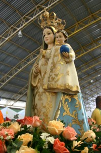 Imagem de Nossa Senhora da Penha no Vinde Vede 2011