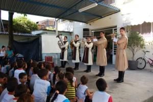 Projeto Futuro e Vida na UMEF Ricardina Stamato da Fonseca