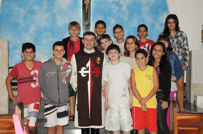 Palestra sobre a Eucaristia na Comunidade Nossa Senhora das Graças