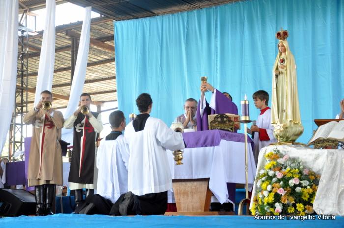 Retiro Quaresmal na Paróquia Nossa Senhora da Glória