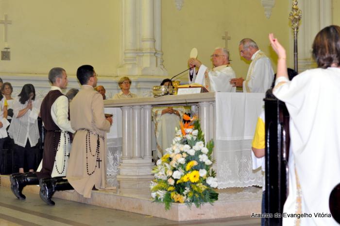 Celebração da Quinta-feira Santa na Catedral Metropolitana de Vitória