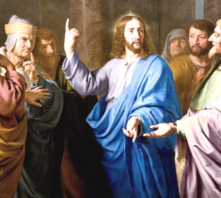 Jesus e os fariseus