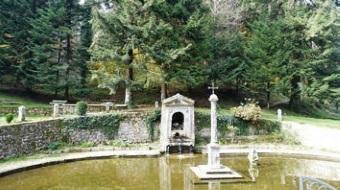 """Jardins e """"Lago da Penitência"""