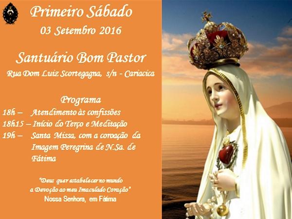 CONVITE: PRIMEIRO SÁBADO