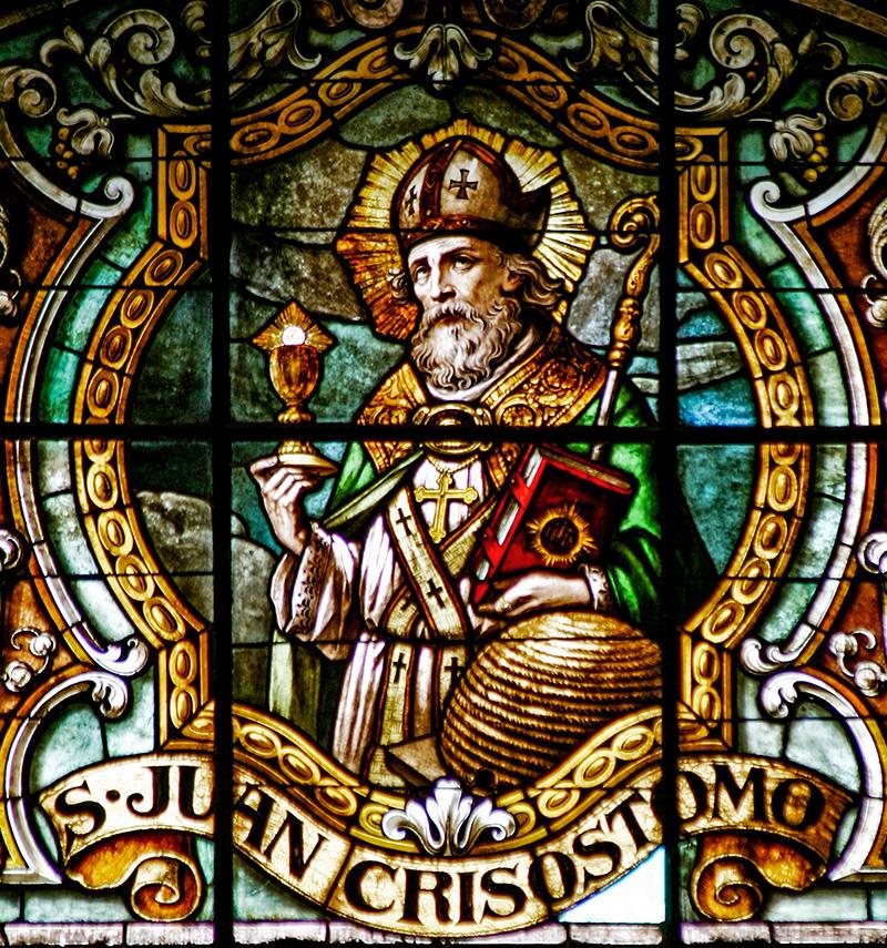 São João Crisóstomo - Catedral de Santiago  do Chile
