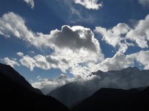 Como as nuvens