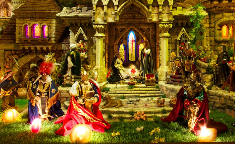 Nossa Senhora recebe os Reis Magos