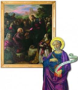 Jesus entrega a São Pedro as chaves do Reino dos Céus: o Príncipe dos Apóstolos tornou-se a rocha sobre a qual o Filho de Deus edificou a sua Igreja imortal, e o primaz de uma dinastia indestrutível, cujo poder é supremo, pleno e universal - o Papado