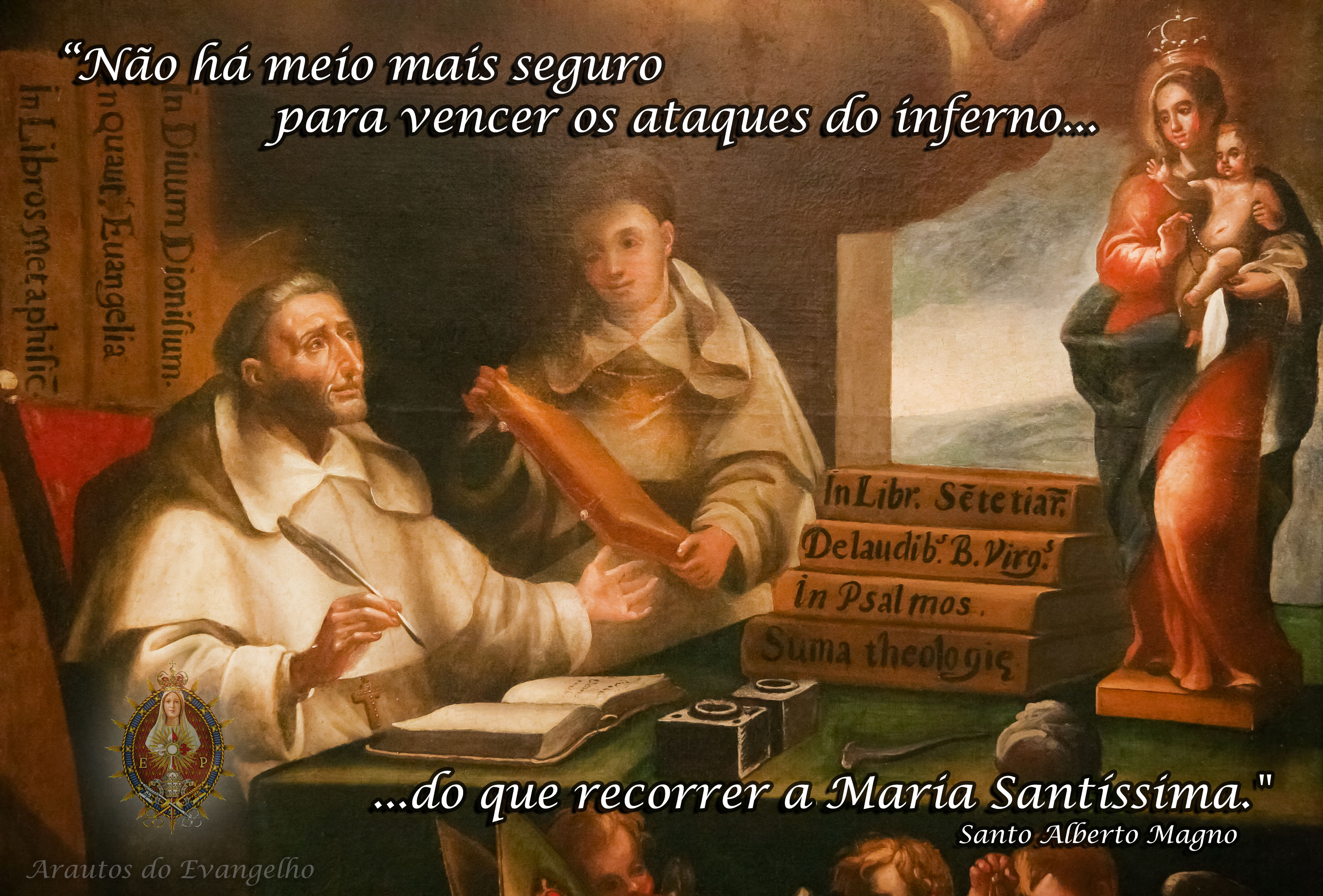 15 de Novembro – Dia de Santo Alberto Magno