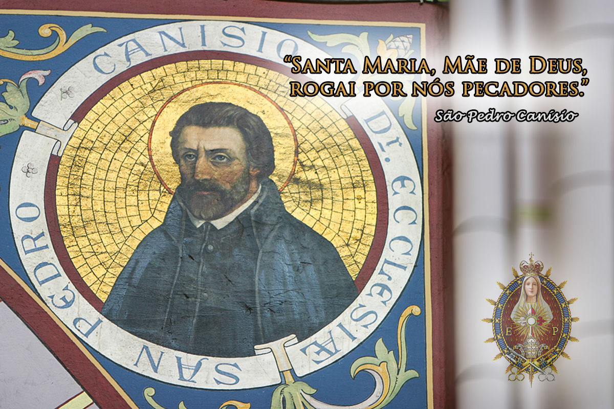 21 de Dezembro – Dia de São Pedro Canísio