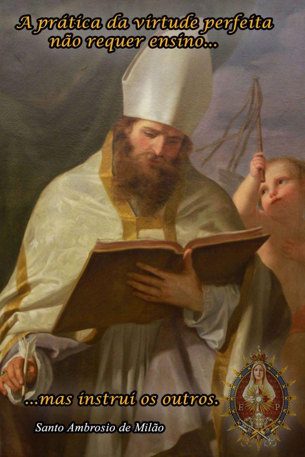 7 de Dezembro – Dia de Santo Ambrósio