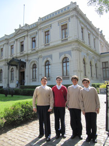 Visita al Palacio Cousiño en Santiago
