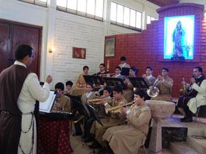 Visita a la Parroquia Santa Inés