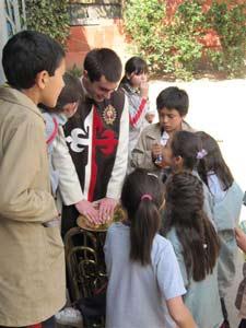 Visita al Colegio Ensenada de María Virgen