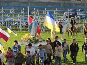 Celebración de la Inmaculada Concepción en Coinco