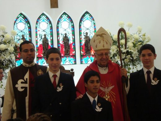 Confirmación en San Benito de Chorrillos – Viña del Mar