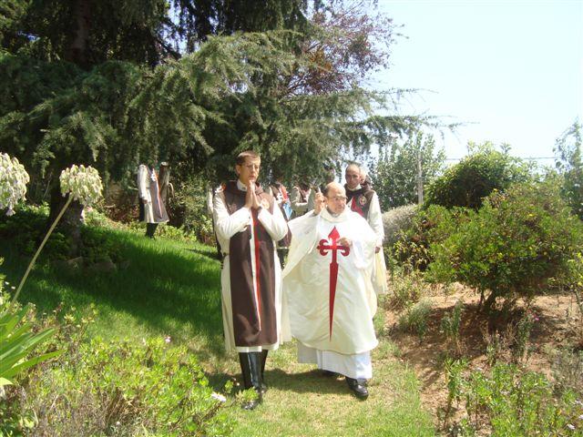 Primera misa y bendición de la nueva casa de los Heraldos en la Diócesis de Valparaíso