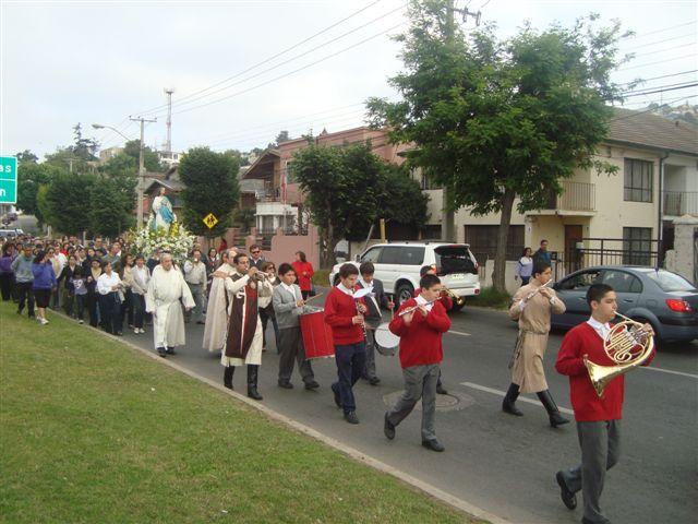 Celebración de La Inmaculada Concepción