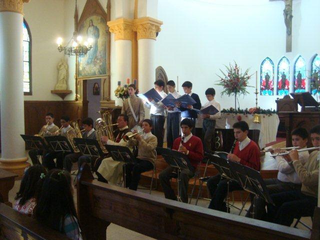 Villancicos en Parroquia San Benito