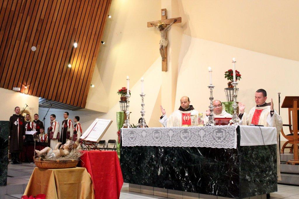 Misa de fin de Año en el Santuario Nacional del Sagrado Corazón de Jesús