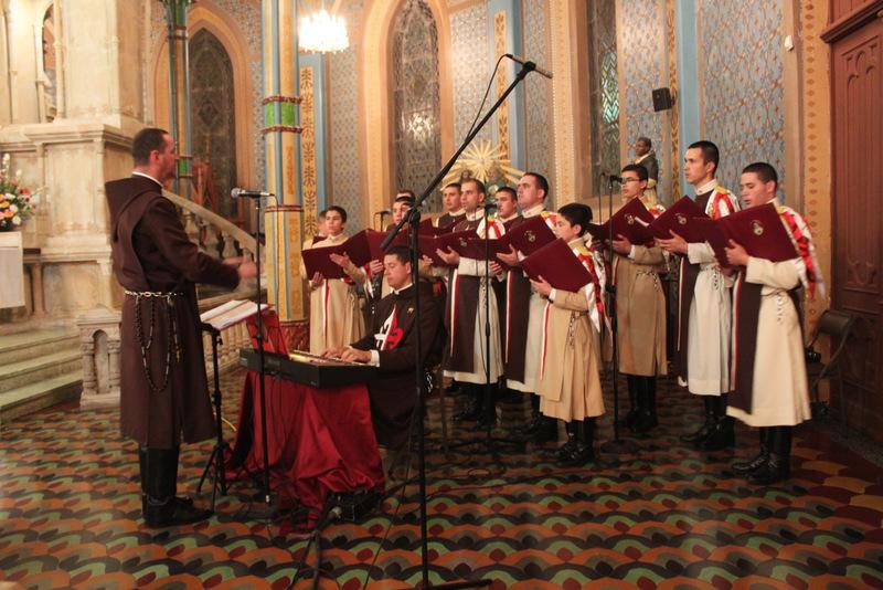 Próximas actividades del Coro y conjunto musical de los Heraldos