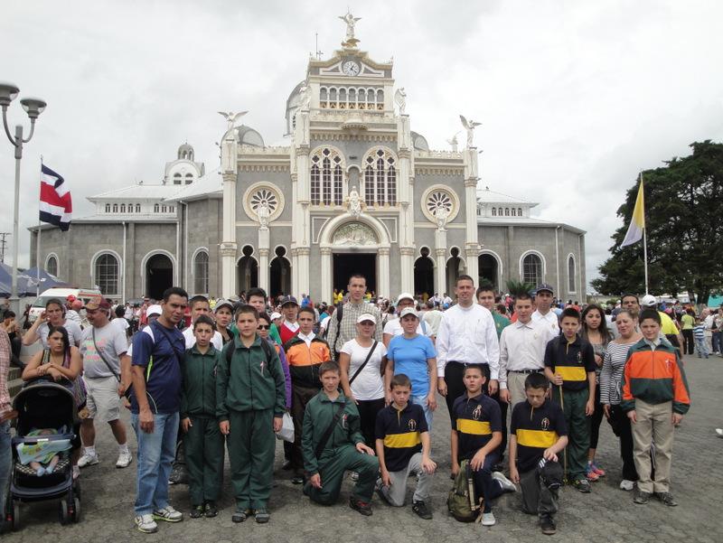 Peregrinación a la Basílica de Nuestra Señora de los Ángeles