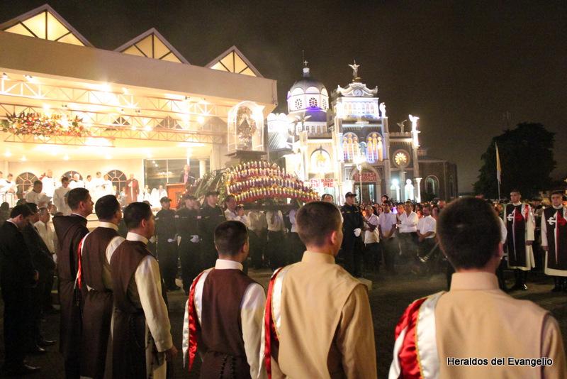 Agenda: Misa de recepción de la Virgen de los Ángeles