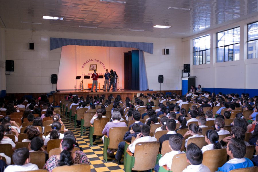 Proyecto Futuro y Vida , Escuela Porfirio Brenes, Moravia, San Jose, Costa Rica