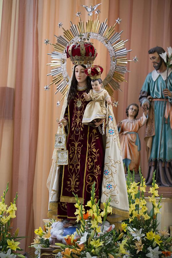 Misa en la iglesia del Carmen – Heredia