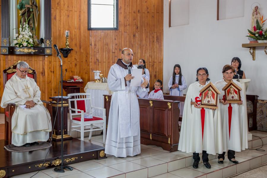 Misa en San Pedro de Barva, Heredia