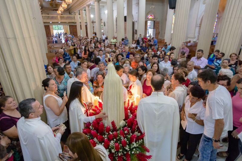 Visita de la Virgen – Parroquia Desamparados