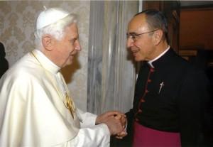 Fundador dos Arautos recebido pelo Papa