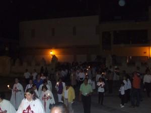 El público llegando a la Catedral.