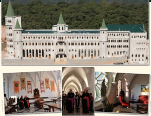 Fotos de la Casa Generalicia Monte Carmelo de la Sociedad Regina Virginum y de la visita del Cardenal Rodé a esta.