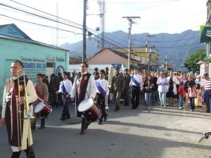 Momentos de la procesión