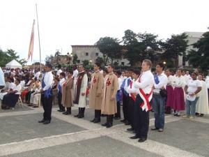 En la Plaza de España