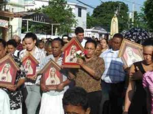 También hubo el  lanzamiento de más Oratorios de la Virgen.