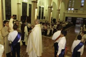 La Virgen en la Mision en Puerto Plata