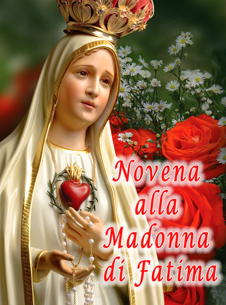 Novena Madonna di Fatima 2018