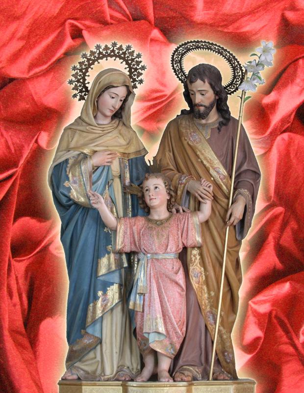 Sacra Famiglia, Araldi del Vamgelo, Novena di Natale