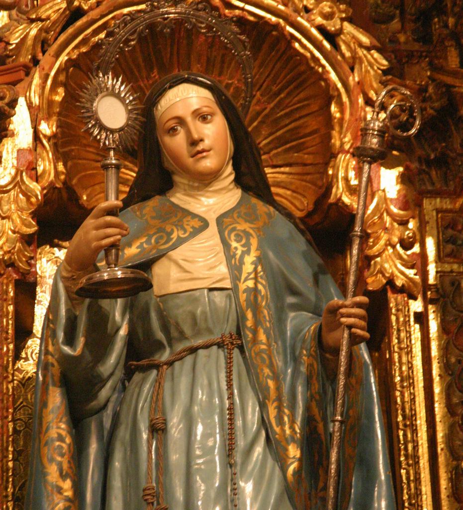 Perché Santa Chiara è patrona della televisione?