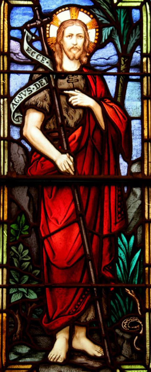 San Giovanni Battista, L'araldo del Messia.